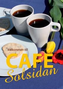 Café Solsidan - ett idylliskt sommarcafé