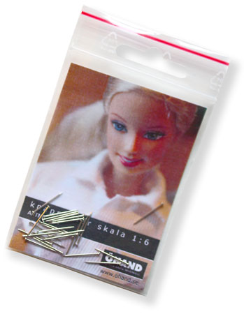 6001 Miniknappnålar för sömnad till Barbie