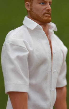 7015 mönster Herrskjorta till Ken