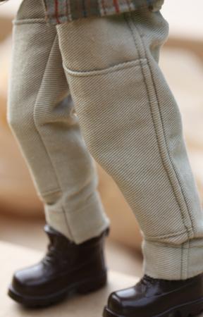 Barbie – mönster Ken safaribyxor