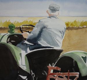 """""""Man på traktor"""""""