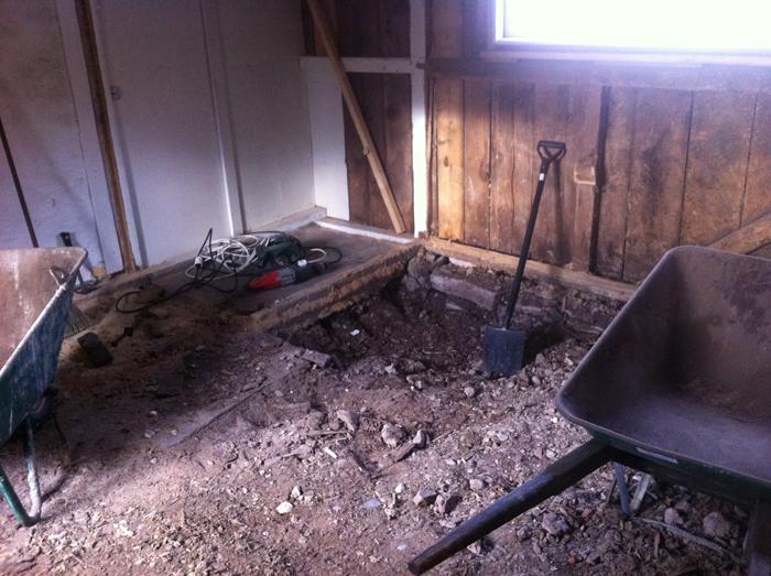 Utgrävningen har börjat!