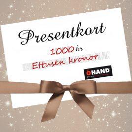 Presentkort från ÖHAND / Design Anita Tingskull