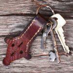 Nyckelring Rynings kors - med patina!