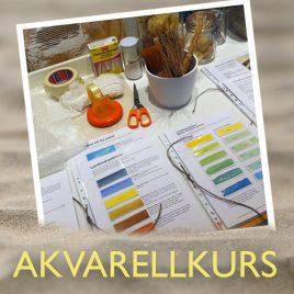 Akvarellkurser på Öland med Anita Tingskull