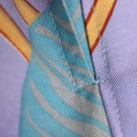 Ateljésydd unik tunikaklänning i fantastiskt vintagetyg